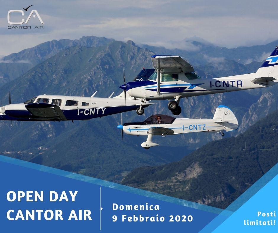 Open Day 2020 Cantor Air